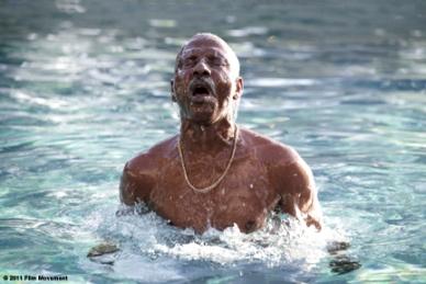 Youssouf Djaoro as Adam in ``A Screaming Man.''